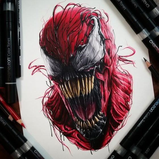 Image of Limited edition carnage print (A4)