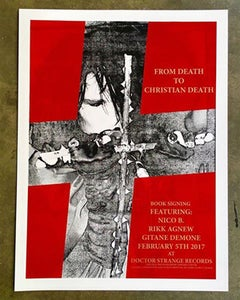 Image of THE ART OF ROZZ WILLIAMS EVENT POSTER