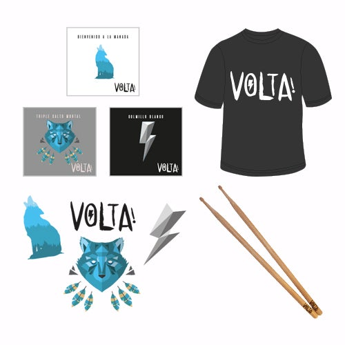 Image of PACK VOLTA!