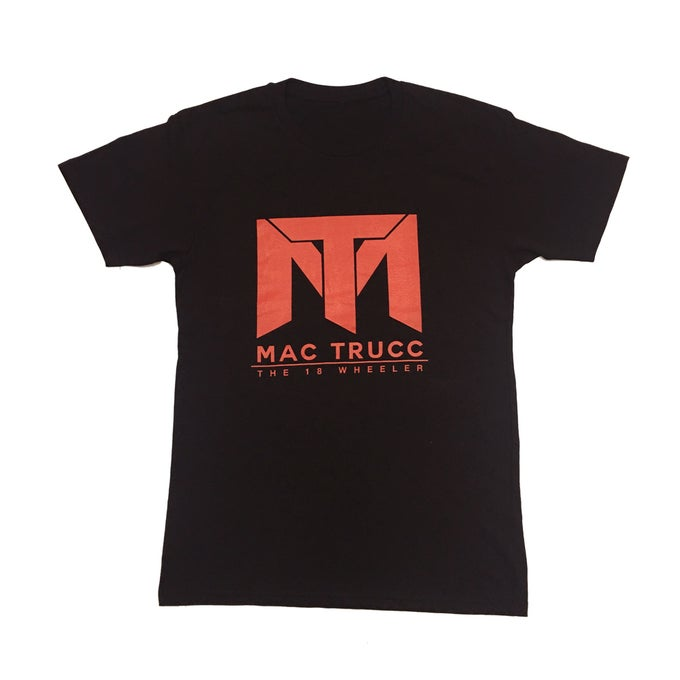 Image of MT Logo T (Black/Red)