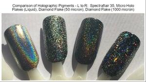 Image of Diamond Flake Holographic Pigment </p> (50 micron)