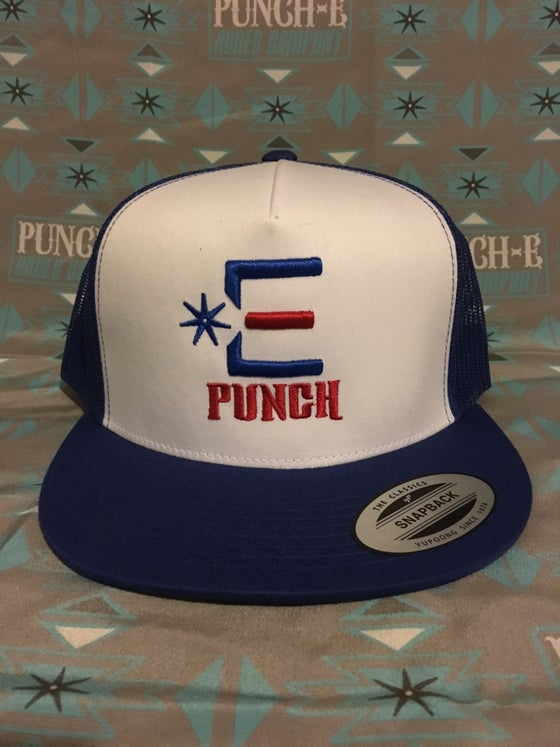 Image of Punch-E Logo (Royal Blue)