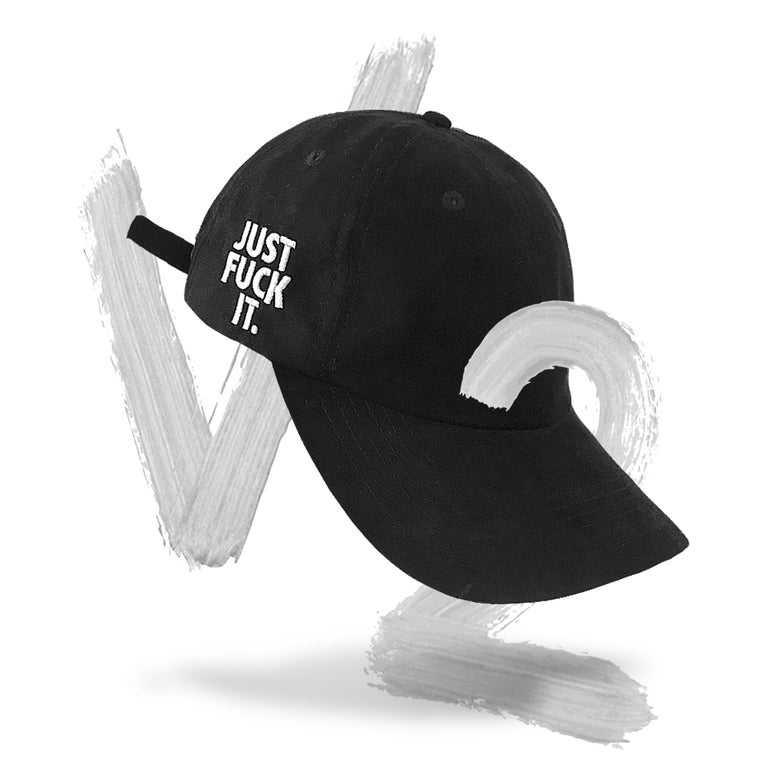 Image of Just Fuck It Cap V2 (Black)