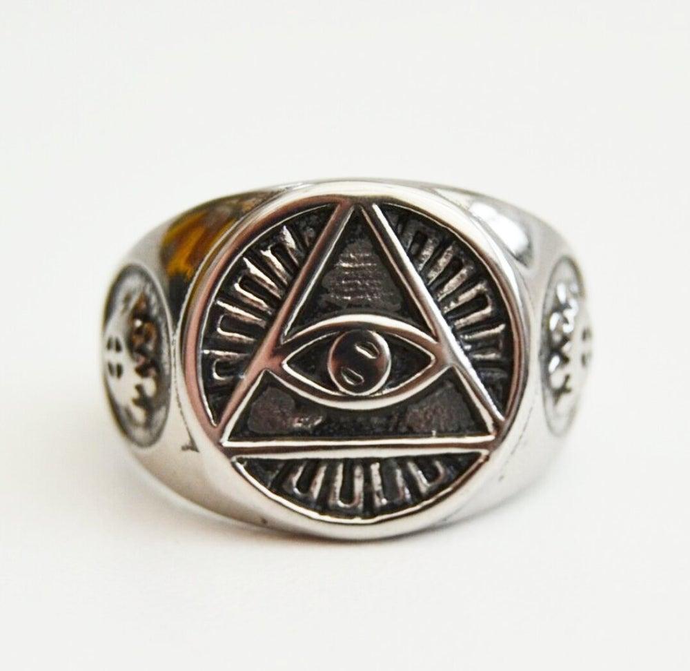 Image of Eye Of Providence Ring