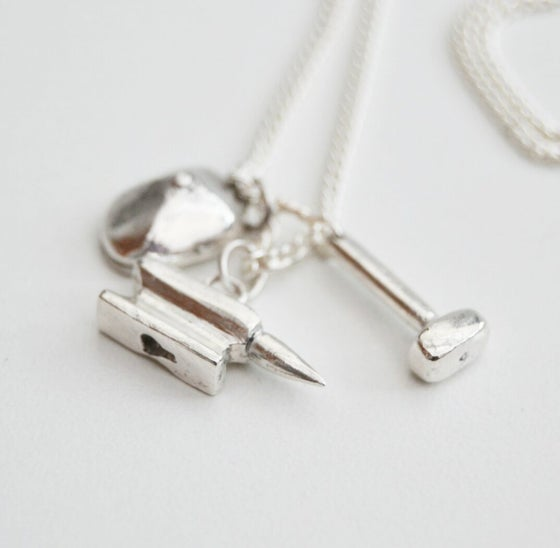 Image of Working Class Solid Silver Necklace