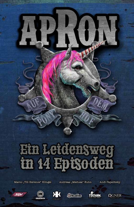 """Image of apRon """"Ein Leidensweg in 14 Episoden"""" Das Buch"""