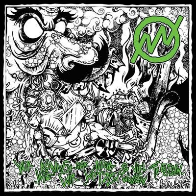 """Image of [affro002] NEGATIV NULL - Wir können gar nicht ... 7"""" (Green Vinyl)"""