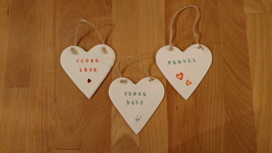 Image of Large Porcelain hearts