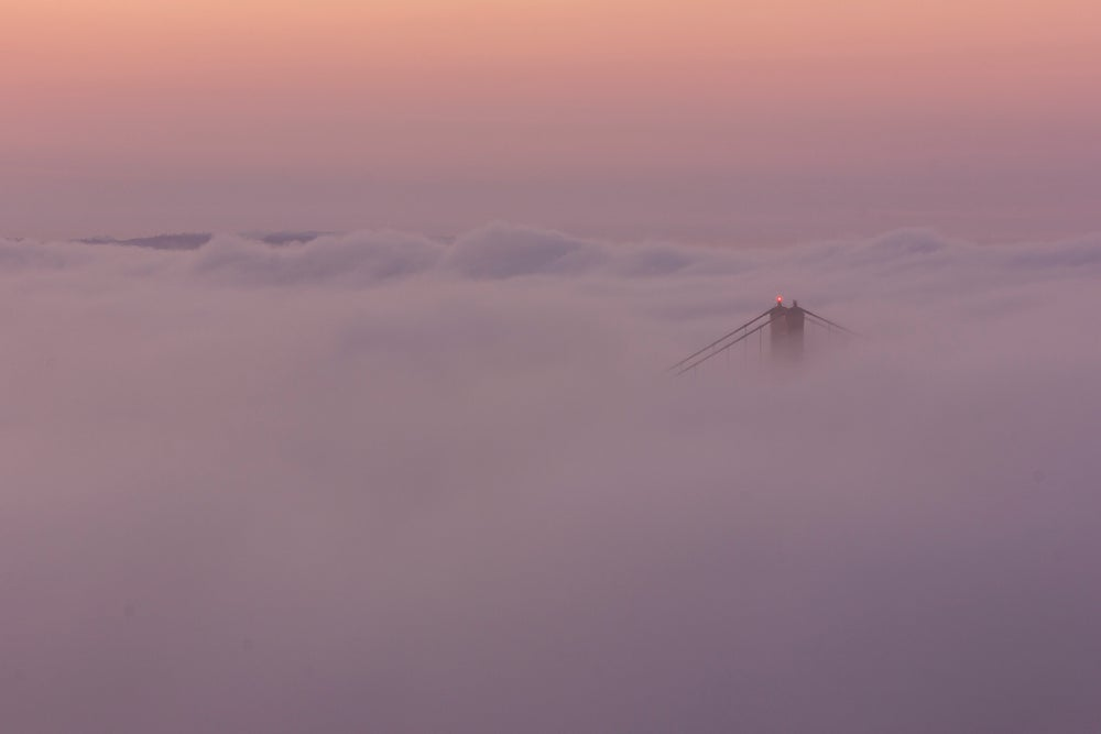 Image of The Bridge In Fog