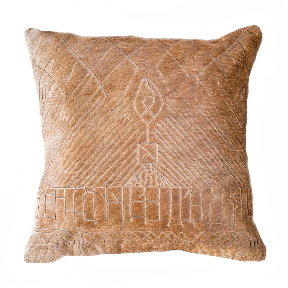 Image of Ourain Hide Cushion