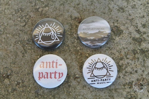 Image of APM 25mm Badge Pack