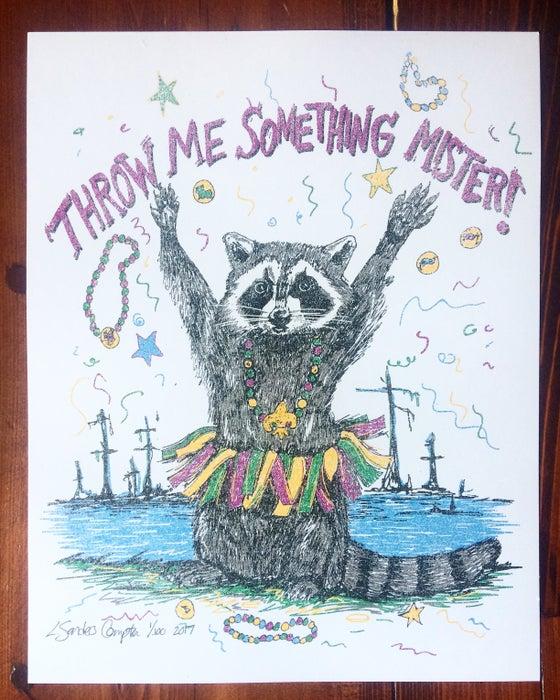 Image of 2017 Throw Me Something Mister Mardi Gras Poster