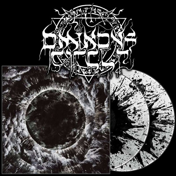 "Image of ""Appalling Ascension"" 2xLP White w/ black splatter"