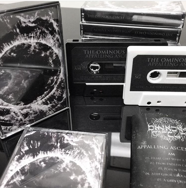 "Image of ""Appalling Ascension"" White tape"