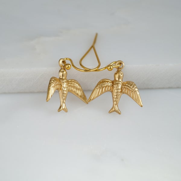 Image of Swallow earrings
