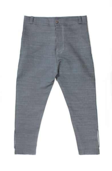 Image of Modified Denim Trousers