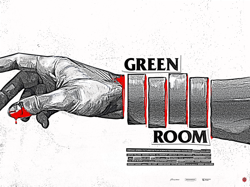 Image of Green Room - Flyer Variant