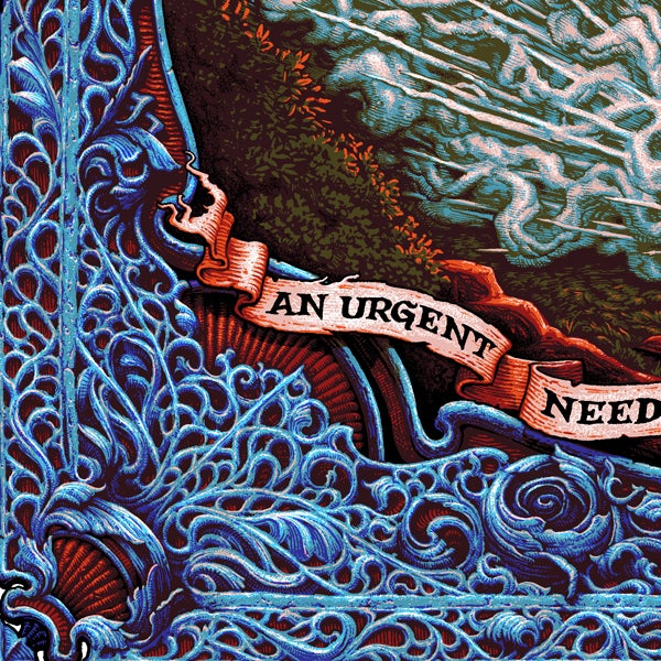 "Image of ""Urgent Need"" limited edition screenprint"