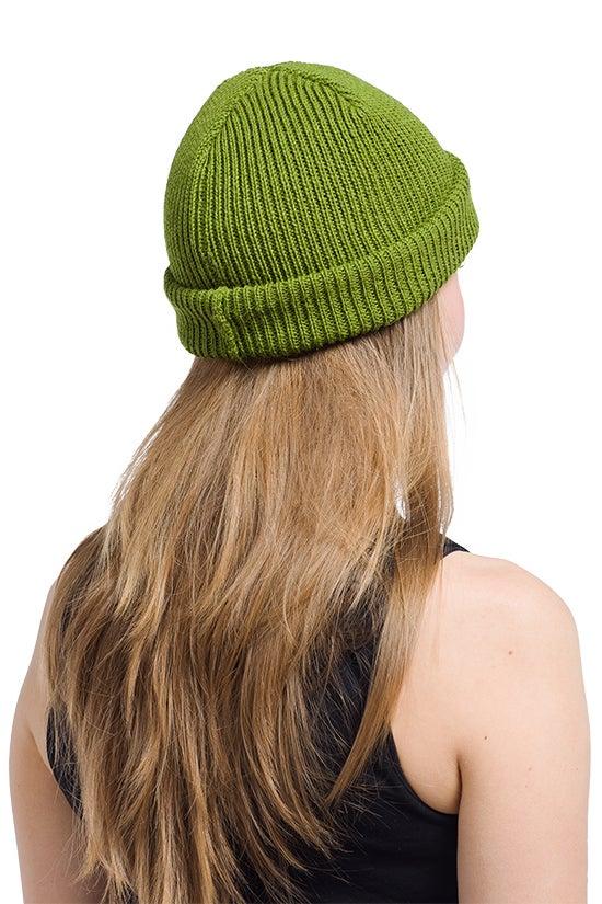 Image of WOOLEN BEANIE Bright green