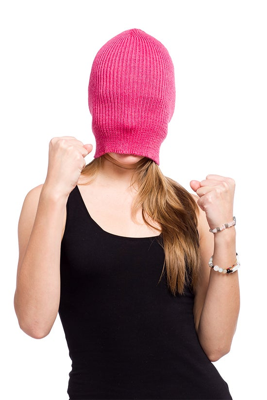 Image of WOOLEN BEANIE Medium pink