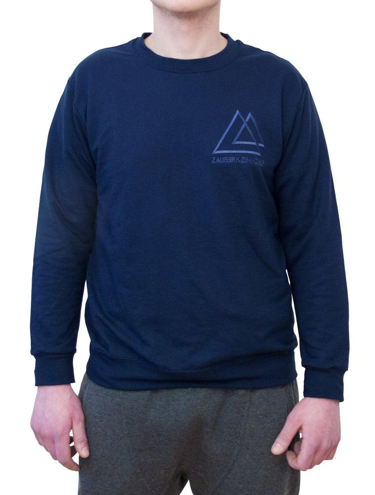 Image of Men Sweatshirt Denim Chic Midnight