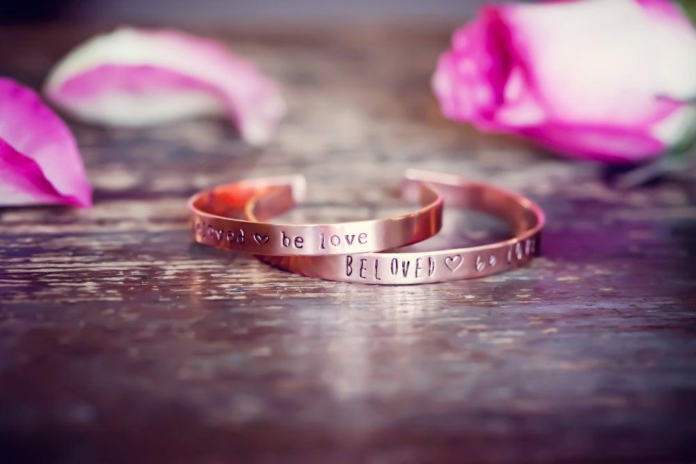 Image of be love bracelets