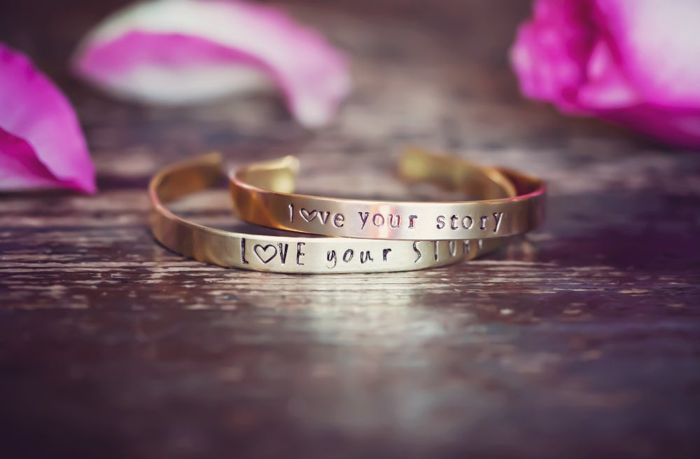 Image of love your story bracelets