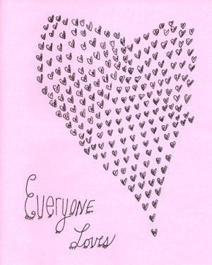 Image of Everyone Loves - Zine, 2004