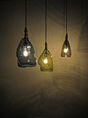 Image of HAND BLOWN GLASS LAMP SHADES