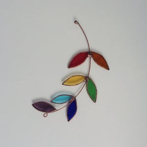 Image of Rainbow Olive Branch