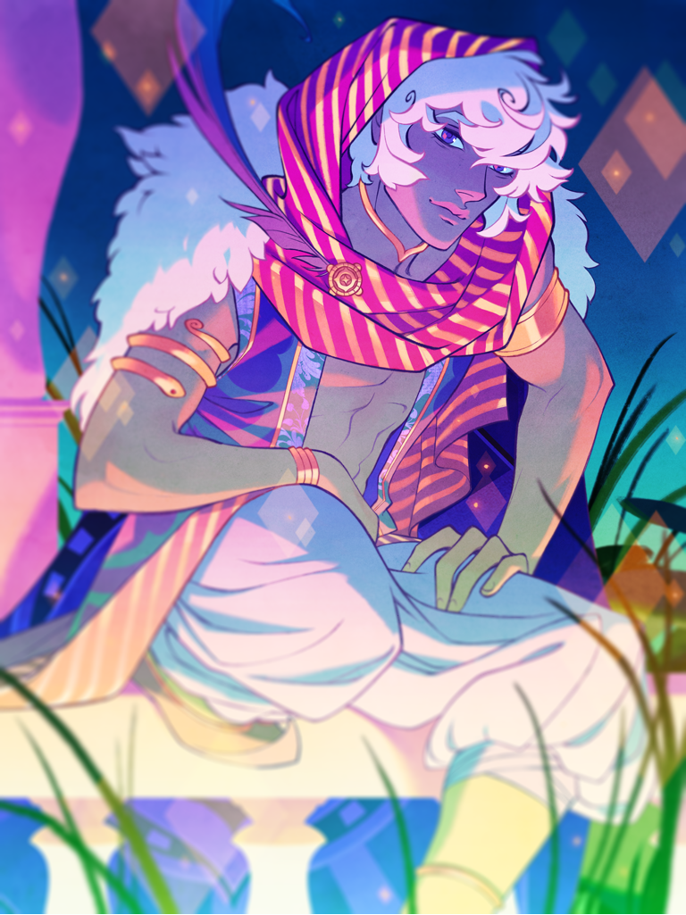 Image of The Arcana - Asra Poster