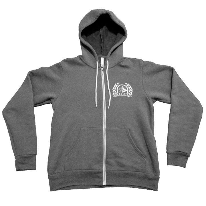 Image of Crested Zip-Hood
