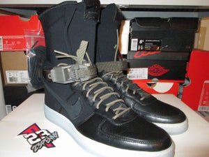 "Image of Air Force 1 Downtown Hi SP ""Acronym: Black"""