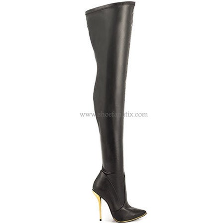 Image of MOORE Or LESS Thigh High BOOT