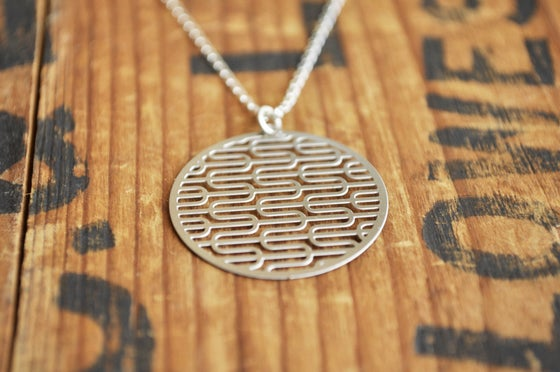 Image of Ripples necklace medium