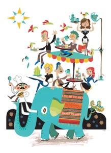 Image of Elephant Cafe A3