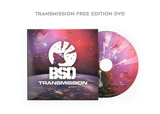 "Image of BSD ""Transmission"" DVD"