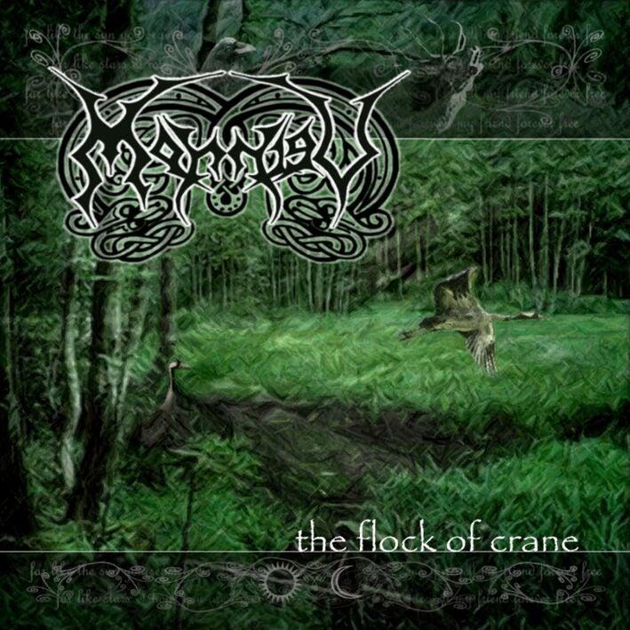 Image of Morrigu Flock of Crain Album (2006)