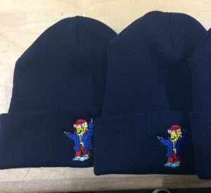 Image of Will Tell/Lo-Life Thug bear beanie