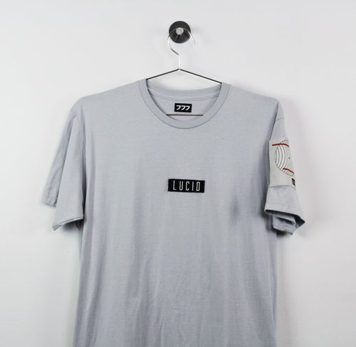 Image of 016-Visual Pleasure Tee (silver)