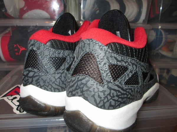 "Air Jordan XI (11) Retro Low I.E. ""Blk/Red"" 2003 - SIZE11ONLY - BY 23PENNY"