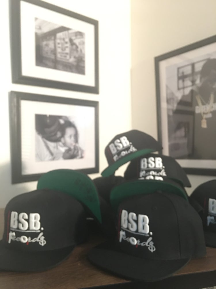 Image of (Official) BSB RECORDS SNAPBACK w/ Autographed Brim
