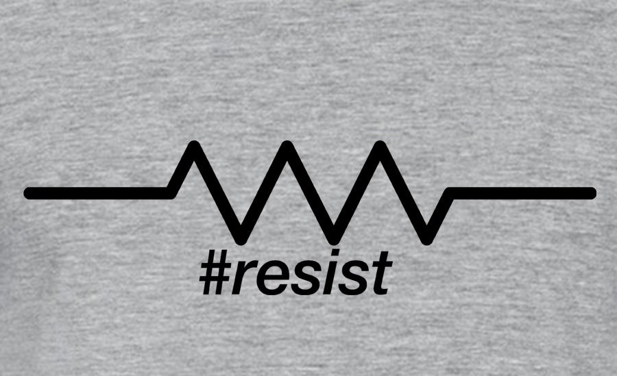 Image of Resist (Variant #1) Men's and Ladies' tee
