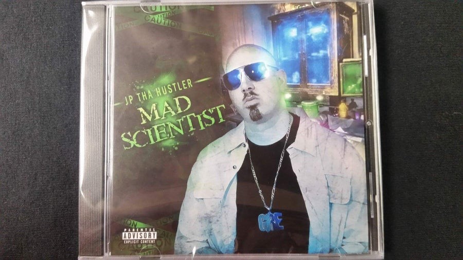 Image of JP THA HUSTLER- MAD SCIENTIST CD