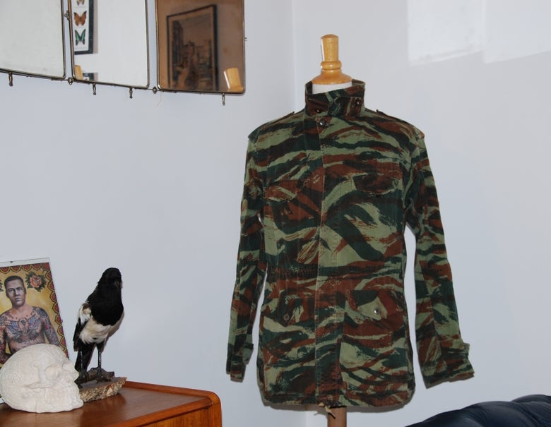 Image of French lizard camouflage jacket