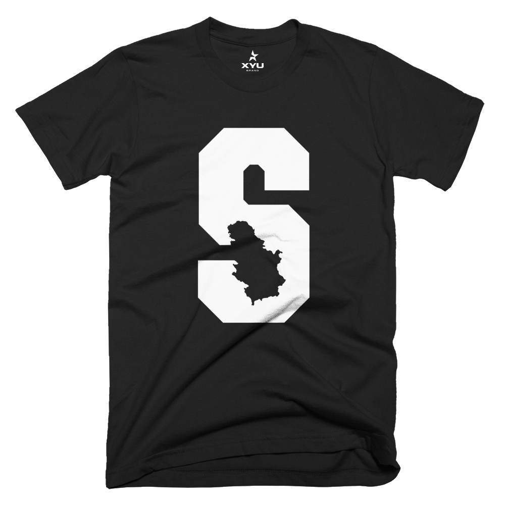 "Image of ""S"" - Serbia T-Shirt"