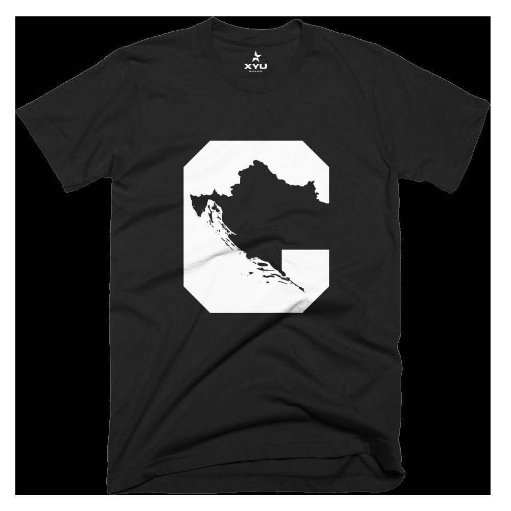 "Image of ""C"" - Croatia T-Shirt"