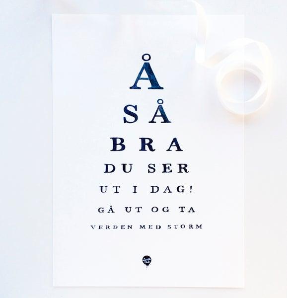 """Image of """"Å så bra"""""""
