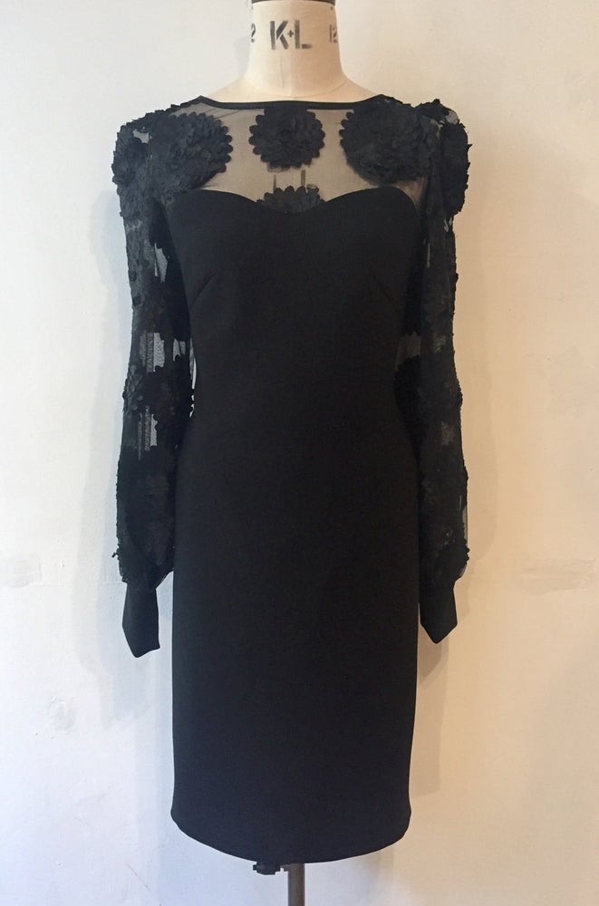 Image of Black dahlia dress