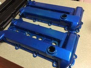 Image of Ford DURATEC powdercoated valve cover kit